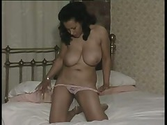 Danica Playing on the Bed