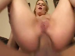 The flexible and sexy young lady loves anal