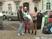 Blonde granny prostitute