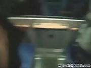 Fucking on a Public Train