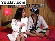 Korean fucking a japanese girl live