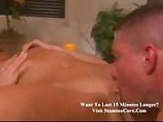 Zandra - Horny slim blonde gets nailed after bath