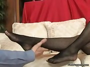 Audrey Bitoni - Hot And Sexy Foot Work