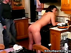 No Sound: Hot Mature Babe Spanked