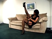 Devin Deray Stockings and Heels Teaser