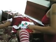 Cunt Bust Santa Maid