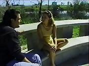 Public Fucking: Car dealer fucks a gorgeous teen customer