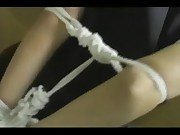 Asian Maid Tied Up