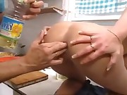 Anal In Kitchen When Food Is Prepairing