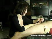 Great amateur wife handjob compilation