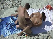 beach fun big cock