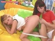 Teen Cucumber Lesbians