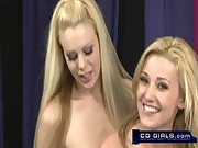 Carlie Banks gets help riding the sybian from Bella Star