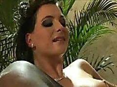 Hot brunette sex